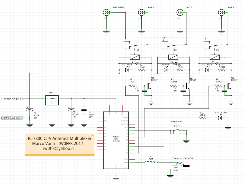 ic-7300 ci-v ant multiplexer