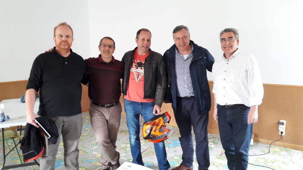 EA3GOC Ruben, EB3MA Salvador, EB3AM Jordi, EA3CA Carles i EA3BTZ Enric